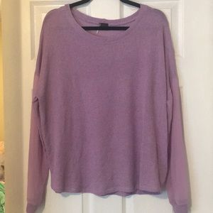 SPARKLE & FADE Knit long sleeve top